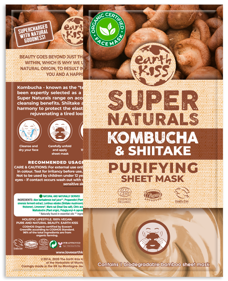 Kombucha & Shiitake Purifying Sheet Mask